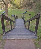 Step ladder to climb — Stock Photo