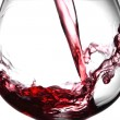 Wine splash - Stock Photo