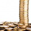 Coins tower - Stock Photo
