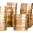 Royalty-Free Stock Photo: Coins tower