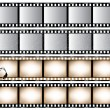 Film Strips — Stock Vector #4327545