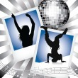 Stock Vector: Disco And Dance