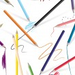 Drawing Pencils - Stock Vector
