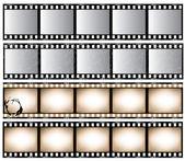 Bandes de film — Vecteur