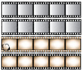 Film Strips — Vector de stock