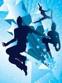 Tanec s hvězdami — Stock fotografie
