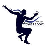 Spor logo — Stok Vektör
