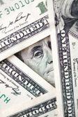 Conceptual dollars photo — Stock Photo