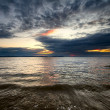 Sundown seascape — Stock Photo