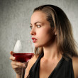 Wine tasting — Stock Photo