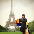 Shopping in Paris — Stock Photo