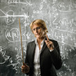 Stock Photo: Severe teacher