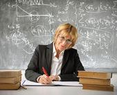 Iyi bir öğretmen — Stok fotoğraf