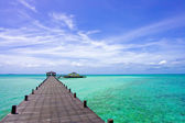 Kapalai Island Resort — Stock Photo