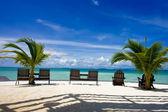 Kapalai Island Resort in Sabah — Stock Photo