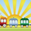 Vector de stock : Train