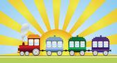 Tren — Vector de stock