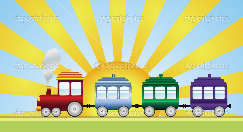 Train — Stock Vector #4030960