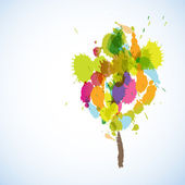 Abstarct Tree — Stock Vector