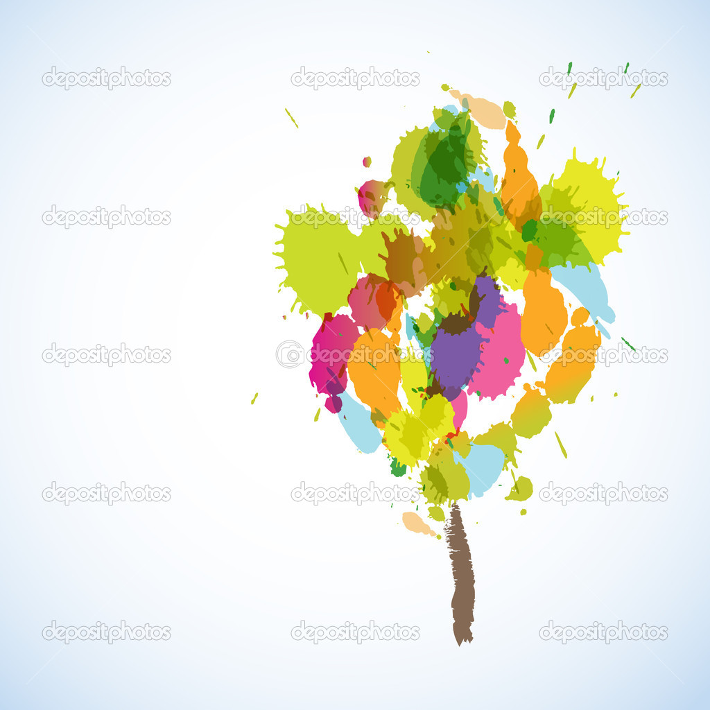 Abstract  tree — Stock Vector #5111884