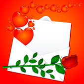 Love letter — Vector de stock