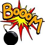 Bomb Boom — Stock Vector #4883904