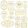 Vector Gold Frame Set - 