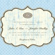 Vector Distressed Background and Matching Frame - Vettoriali Stock 