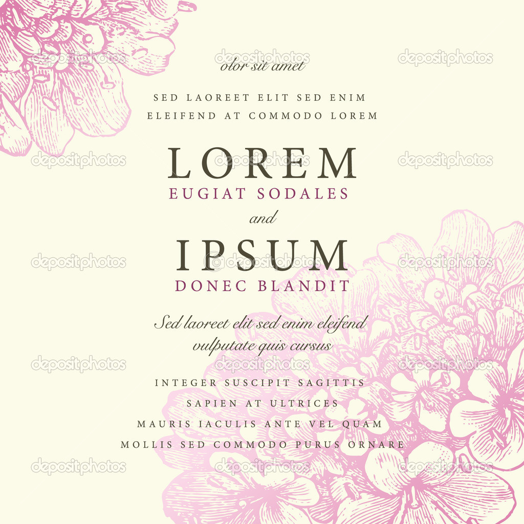 Vector ornate pastel frame. Easy to edit. Perfect for invitations or announcements.  Stock Vector #4832270