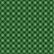 Vector St. Patricks Clover Background - Stock Vector