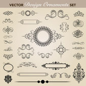 Vector Ornament Set — Stock Vector