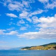 Nice sky over sea — Stock Photo