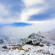 In mountains in winter time — Stock Photo