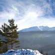 Winter landscape in mountains — Stock Photo #4716384