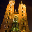 Mariacki church in Krakow — Stock Photo #4792122