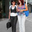 Pretty women walking — Stock Photo #4013562