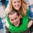 Young couple portrait — Stock Photo