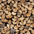 Stack of firewood — Stock Photo #4121072