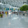 Stock Photo: interior of internatioinal airport