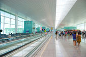 Interior of Internatioinal Airport — Stock Photo