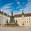 Ofburg Imperial palace, Vienna — Stock Photo #4673408