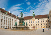 Ofburg Imperial palace, Vienna — Stock Photo