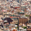 Stock Photo: Lot of Barcelonroofs