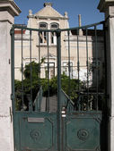 Old gate in the Lisbon — Stockfoto