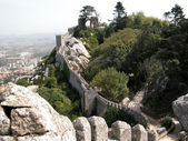 Moorish castle — Stock Photo