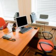 Stock Photo: Modern office interior - workplace
