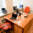 Modern office interior - workplace — Foto Stock