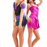 Club style girls — Stock Photo #5265267