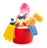 Cleaning tools — Stockfoto
