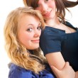 Two young girl friends — Stock Photo #5281464